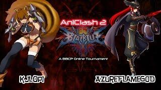 AniClash 2 - BBCP - [W-Bracket] - kjlop1 (Makoto, Jin) vs xAzureFlameGod (Tsubaki)