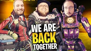THE OG TRIO IS BACK!! APEX LEGENDS SQUADS W/ MOONMOON & LASSIZ!!
