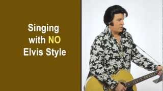 "How to Sing like Elvis Presley - ""Fever"" karaoke lyrics"