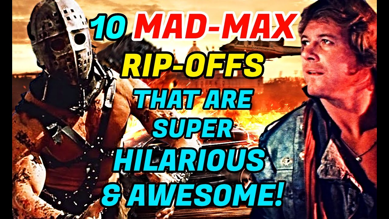 10 Crazy Mad Max Rip-Offs That Are Hilarious And Awesome!
