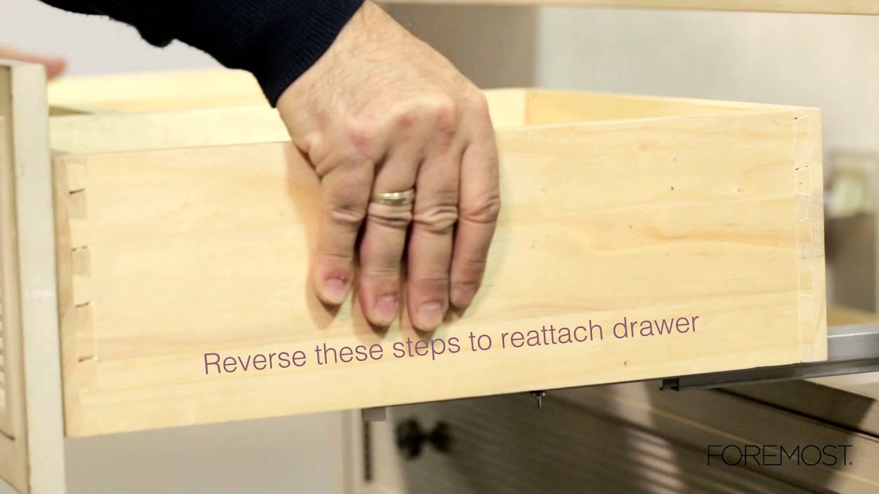 Bottom Latch Drawer Removal  YouTube