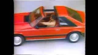 1981 Ford Mustang TV Ad Commercial  (4 of 6)