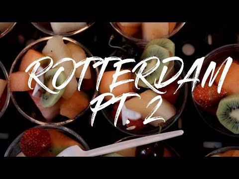 2 Minute Daily Travel Vlog || Netherlands - Rotterdam Pt. 2