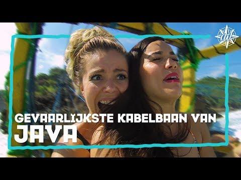 GEVAARLIJKSTE KABELBAAN VAN JAVA! | Bibi & Yvonne #3 - Java