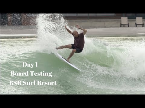 Day 1 Surfboard Testing at BSR Surf Resort Waco, TX by Noel