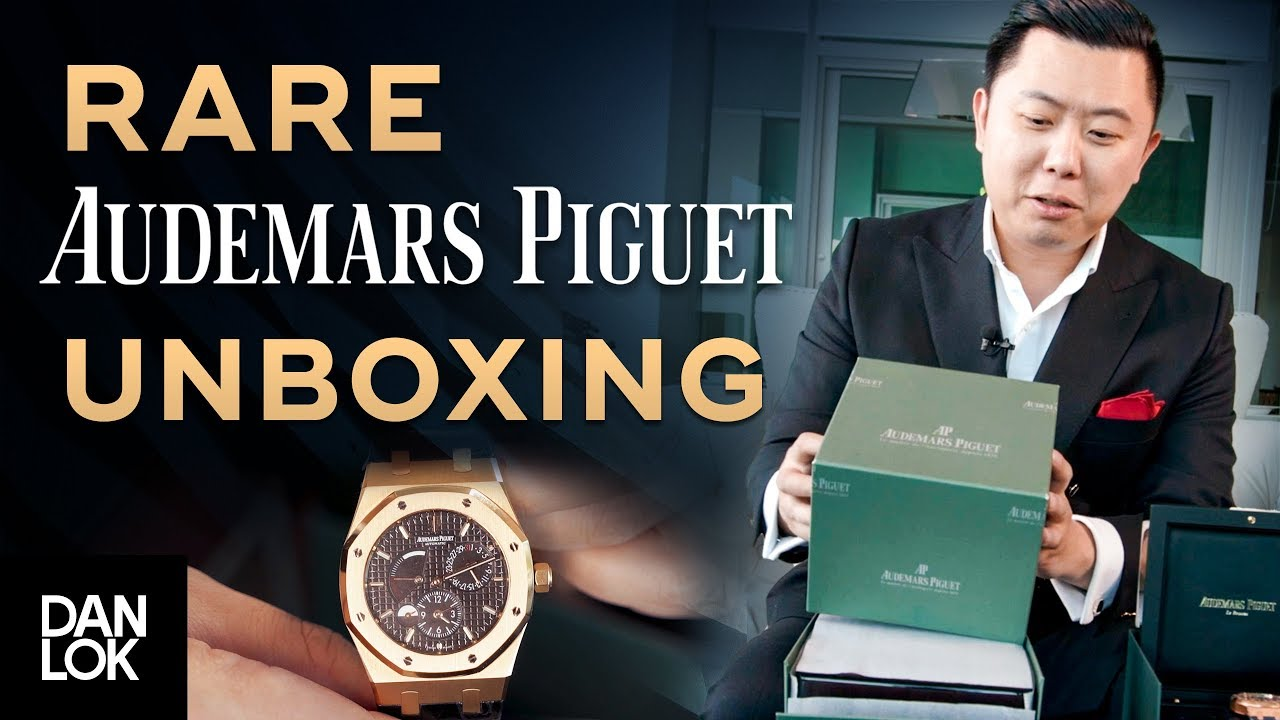 Unboxing Audemars Piguet Ap Watch