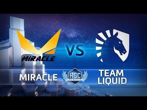 Miracle vs Team Liquid vod
