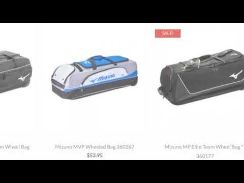 Mizuno Catchers Bag Baseball Bargains Youtube