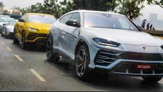 3 Lamborghini URUS First Time on Indian Roads LAMBORGHINI MUMBAI