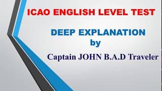 HOW TO PASS Icao english level test DETAYLI ANLATIM