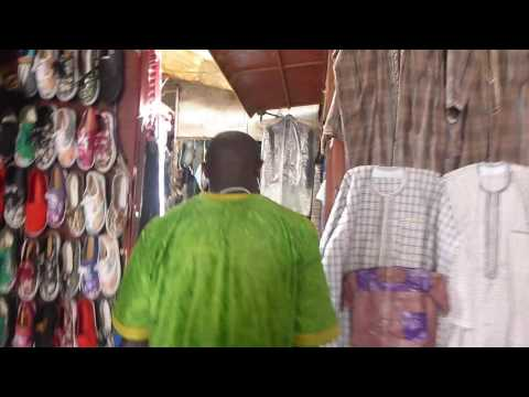 Albert Market in Banjul   Part 1   Gambia   May 2016