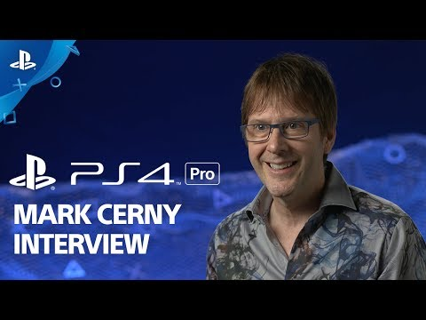 Mark Cerny on the PS4 Pro and Future of Gaming | E3 2017