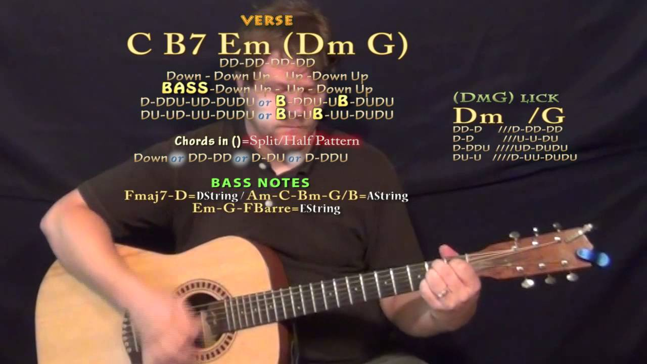 100 The Game Guitar Lesson Chord Chart Youtube