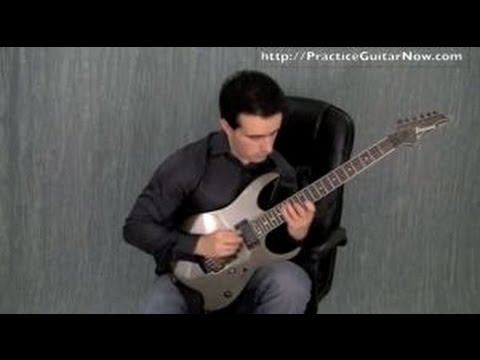 Best Sweep Picking Exercise For Improving Your Sweep Picking