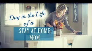 DAY IN THE LIFE OF A PREGNANT SAHM | CHORES & MORE | Summer Whitfield