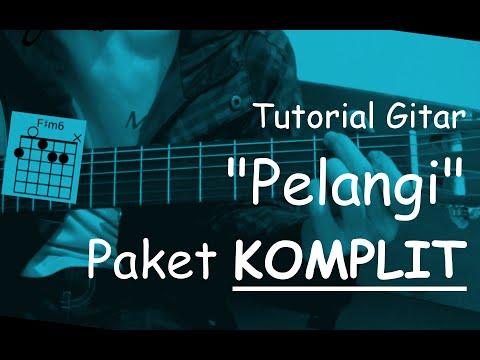 Belajar Gitar (Pelangi - Hivi) + Paket Komplit