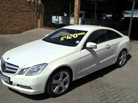 2011 Mercedes Benz E Class E350 Coupe A T Auto For Sale On Auto Trader South Africa