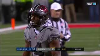 J.T. Barrett's 4th Quarter Comeback vs Penn State (2017)