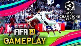 FIFA 19 GAMEPLAY w/ JUVENTUS RONALDO! CHAMPIONS LEAGUE GAMEPLAY!