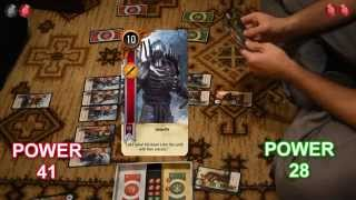 vuclip Real Life Gwent: Scoia'tael vs Monster Deck (Witcher 3 card game)