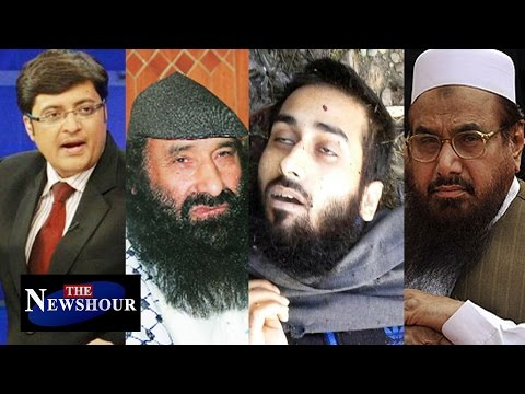 Hafiz Saeed & Syed Salahuddin Hold Memorial for Burhan Wani: The Newshour Debate (11th July 2016)