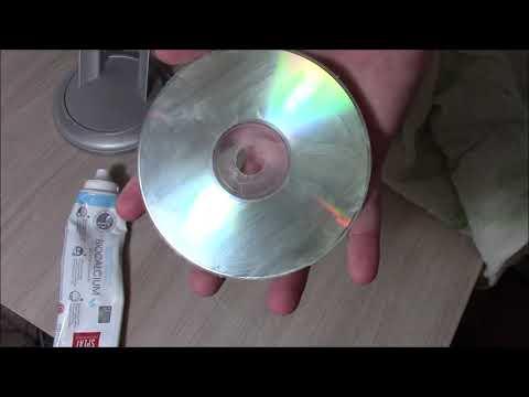 Разрушители мифов: Удаление царапин на диске с помощью зубной пасты