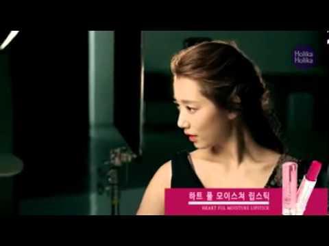 Jung Il Woo & Park Shin Hye In Holika Holika CF Shooting  BTS (long Version)