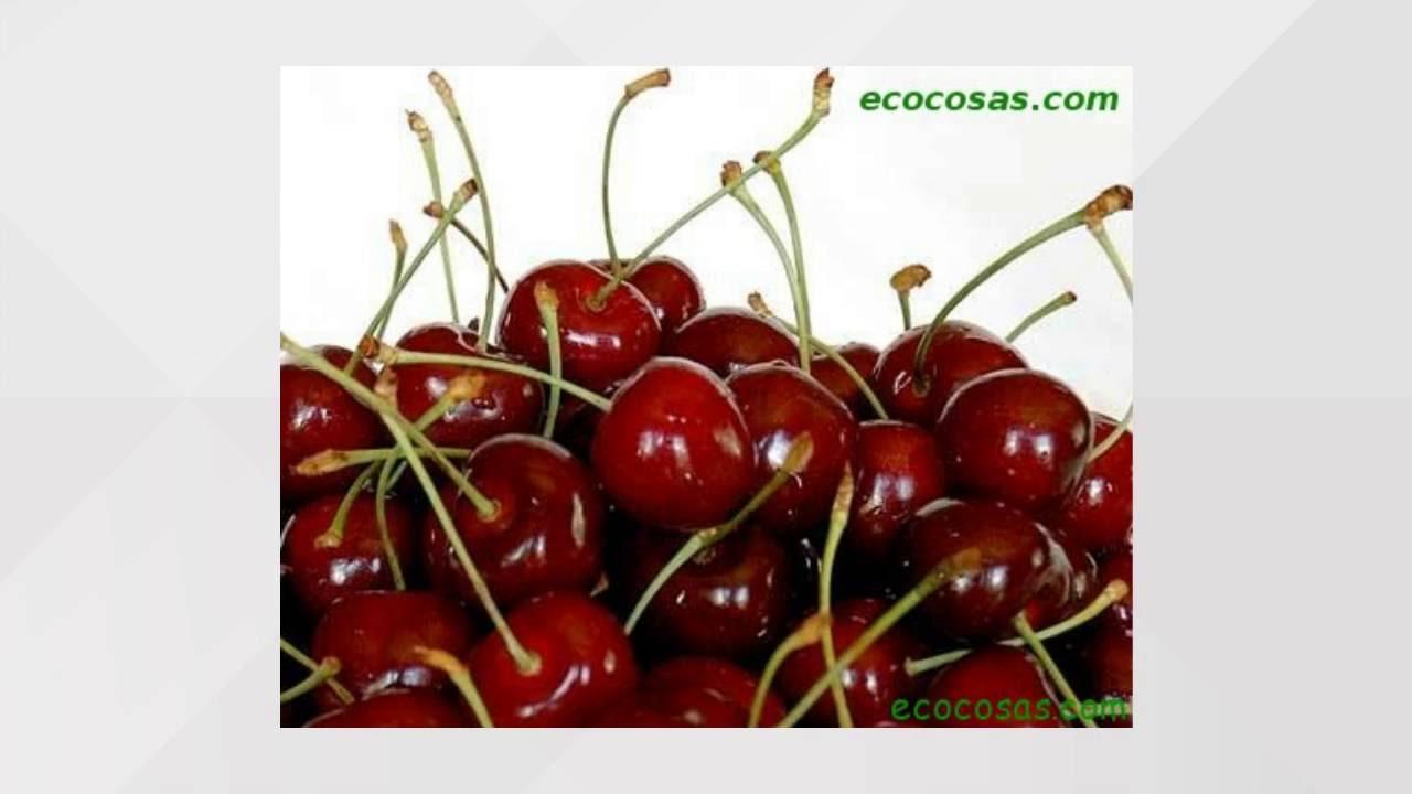 componentes nutricionales de la cereza