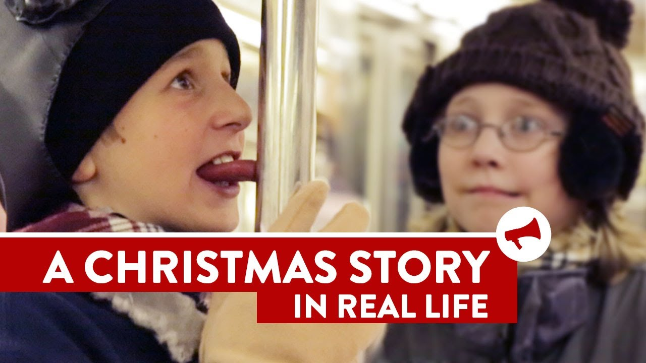 A Christmas Story In Real Life - Movies In Real Life (Episode 10)