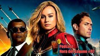 Hemos Visto Capitana Marvel. #Podcast Hora del Saqueo #97
