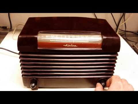 1947 Wards Airline radio model 74BR-1504B