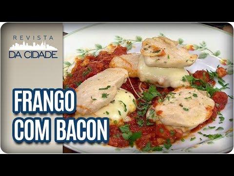 Receita De Frango Com Bacon - Revista Da Cidade (14/08/2017)