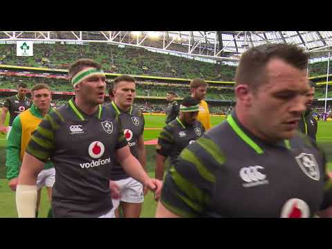 Irish Rugby TV: Ireland v Scotland - Tunnel Cam At Aviva Stadium