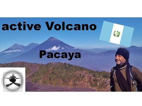 Volcano Hike Pacaya Guatemala  -Traveling Adventures-