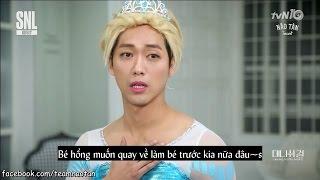 [Vietsub] Hài bựa Cô Gái Hàn Quốc - SNL Korea - Nam Goong Min