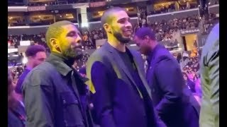 NBA Players Arrive At Kobe Bryant Funeral Kyrie Irving Dwyane Wade Jason Tatum Lamar Odom