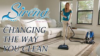 Sirena Vacuum Cleaner - Changing The Way You Clean