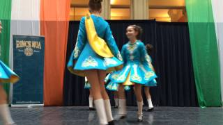 rince nua blue team soft shoe diddly reel day of irish dance 2015