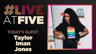 Broadway.com #LiveatFive with Taylor Iman Jones of SCOTLAND, PA