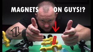 """How to Get """"Magnets"""" on your Foosball Players"""