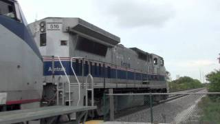 [Rare!] Dash 8-32BWH Leading Amtrak 91!!!