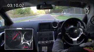 Nissan GT-R 2009 7.26.7 lap around Nordsleife