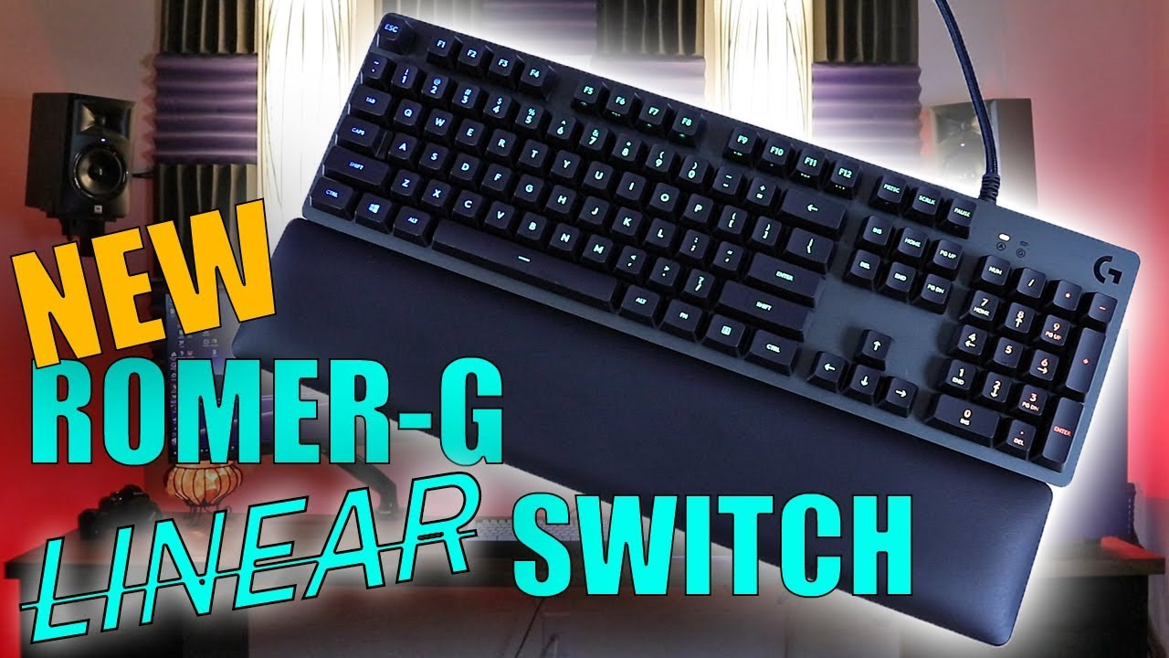 Logitech G513 Keyboard Review with NEW Romer-G Linear Switches