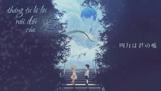 Tháng Tư Là Lời Nói Dối Của Em - Your Lie in April - Hà Anh Tuấn [Lyrics Video HD]