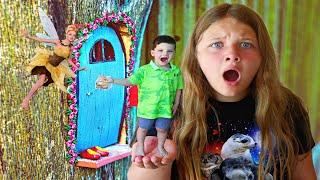 FAIRIES THE MOVIE! Fairies in the Backard! Fairies in the Walls! Fun and crazy Kids!