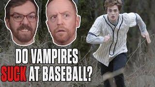 Twilight Baseball Scene: Robert Pattinson, Vampire Faces & Rounding Bases | SN At The Movies