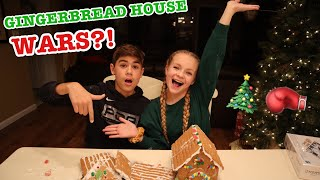 GINGERBREAD HOUSE WARS?! // VLOGMAS DAY 10 // Pressley Hosbach