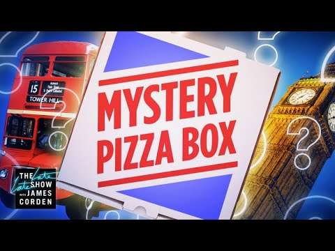 Mystery Pizza Box: Delivering Around London