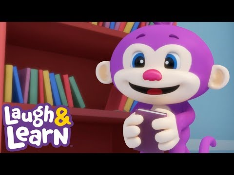 Little Monkey Song - Laugh & Learn | Kids Songs And Cartoons | Nursery Rhymes | Songs For Kids