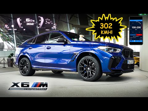 302 KMH in a SUV!!!  BMW X6M Competition with M-Performance Parts